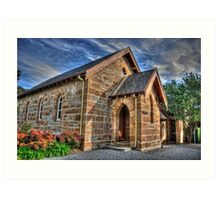 Chapel At Edinglassie Village (1), Emu Plains, NSW, Australia Art Print