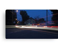 A Busy Morning Canvas Print