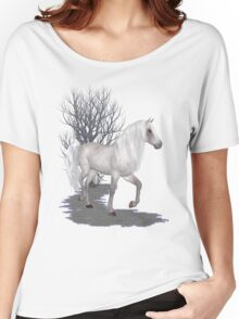 Moonglow .. appaloosa stallion Women's Relaxed Fit T-Shirt