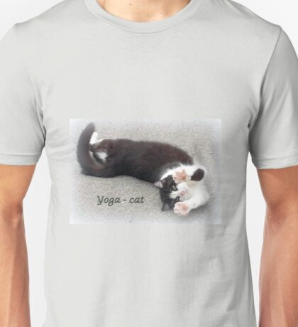 Yoga - Cat Unisex T-Shirt