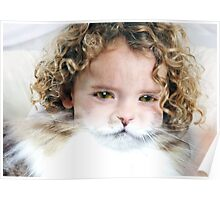 A child Cat Poster