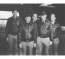 Jimmy Doolittle and His Crew Photographic Print