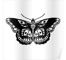 Harry Styles Tattoos,Butterfly Poster