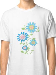 Fabric Flowers Classic T-Shirt