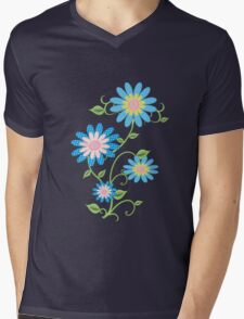 Fabric Flowers T-Shirt