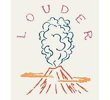 Explode Volcano Blast Photographic Print