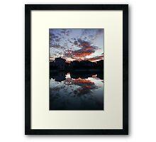 lago del meson Framed Print