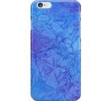 Blue Shatter iPhone Case/Skin