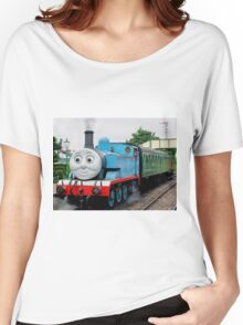 Thomas Waits For His Passengers ! Women's Relaxed Fit T-Shirt