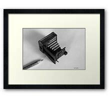 Words & Pictures Framed Print