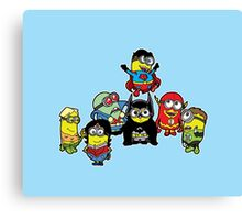 Justice League of Minions Canvas Print