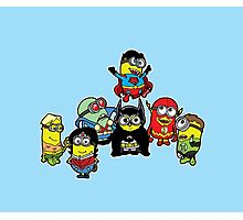 Justice League of Minions Photographic Print