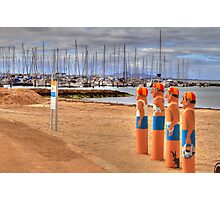 Geelong's Baywatch Photographic Print