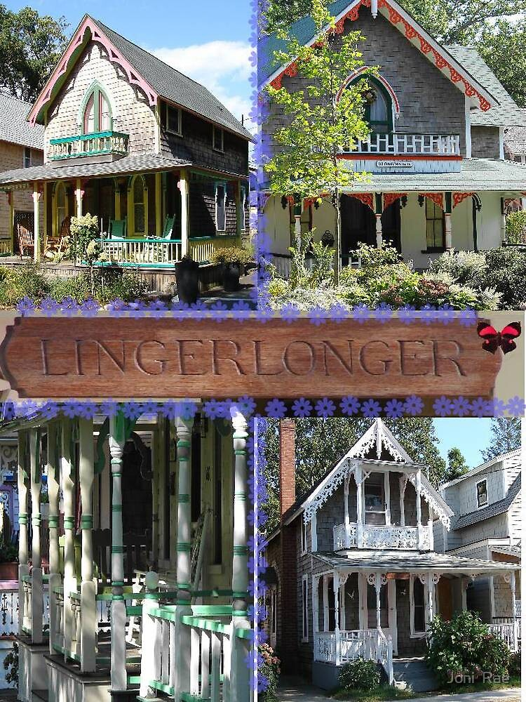Gingerbread Cottages of Martha's Vineyard by Joni  Rae