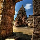 Phanom Rung Stone Castle by Adrian Evans