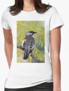 Young Adult Red Wattlebird Womens Fitted T-Shirt