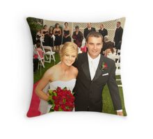 MR AND MRS AKERS Throw Pillow