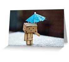 Rain Rain Go Away! Greeting Card