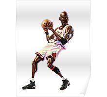 Michael Jordan Cartoon Poster