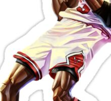 Michael Jordan Cartoon Sticker