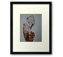 A Fading Memory Framed Print