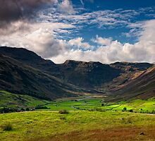 Little Langdale Valley by Edward Bentley