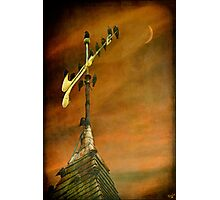 Steeple Starlings Photographic Print