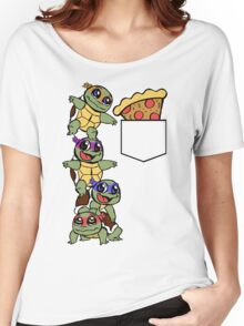 Pocket Pizza Women's Relaxed Fit T-Shirt