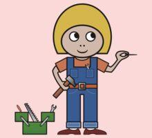Little Handy Girl by jean-louis bouzou