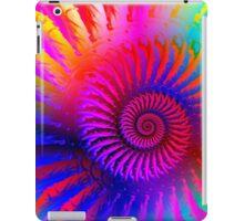 Psychedelic Spiral Fractal iPad Case/Skin
