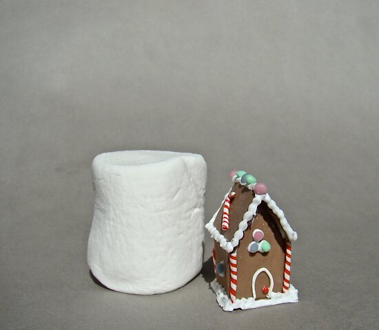 gingerbread house by jessica hlavac