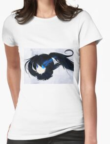 Black Rock Shooter Sweet blue Womens Fitted T-Shirt