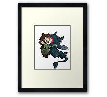 Forbidden Friendship  Framed Print