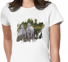 Flora Greys Womens Fitted T-Shirt