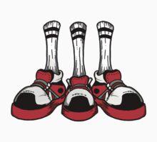Chicago Shoe Trio by cesspool