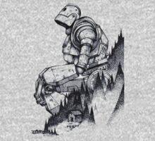 Iron Giant Kids Tee