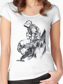 Iron Giant Women's Fitted Scoop T-Shirt