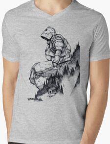 Iron Giant Mens V-Neck T-Shirt