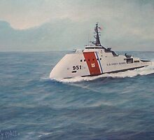 U. S. Coast Guard Cutter concept design by William H. RaVell III