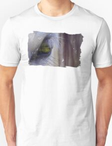 Silver and Green Unisex T-Shirt