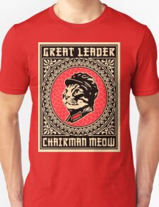 Great chairman leader MEOW T-Shirt