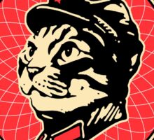 Great chairman leader MEOW Sticker