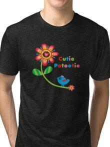 Cutie Patootie - on darks Tri-blend T-Shirt