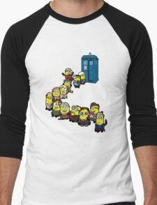 Doc Minion Line Up Men's Baseball ¾ T-Shirt
