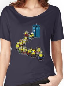 Doc Minion Line Up Women's Relaxed Fit T-Shirt