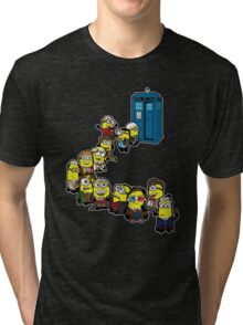 Doc Minion Line Up Tri-blend T-Shirt