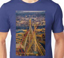 Leonard P. Zakim Bunker Hill Memorial Bridge Unisex T-Shirt