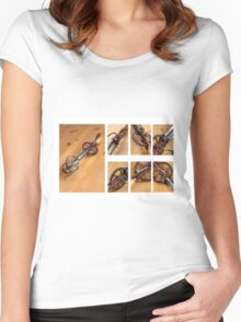 Old Cream Beater  Women's Fitted Scoop T-Shirt