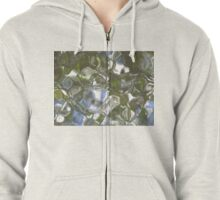 Water, Ripples and Reflections #3 Zipped Hoodie