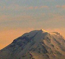 Mt. Rainier, January 4 2007 by EyesOfTheCat